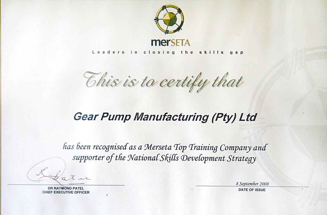 Merceta Award