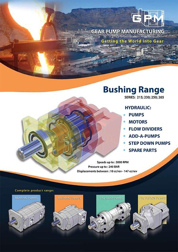 GPM Bushing Range Gear Pumps Brochure