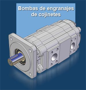 Bombas de engranajes de cojinetes GPM