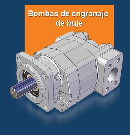 GPM Bombas de engranaje de buje