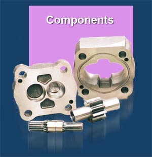GPM Hydraulic Pump Components
