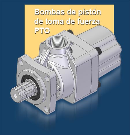 GPM Bombas de pistón de toma de fuerza PTO